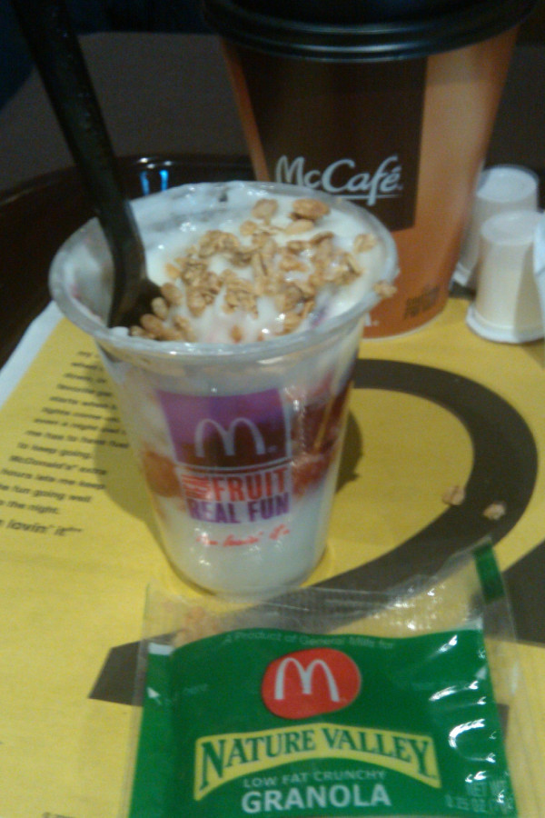 McDonald's Fruit Parfait