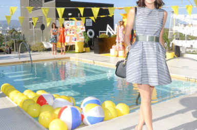 Camilla Belle in Kate Spade Saturday