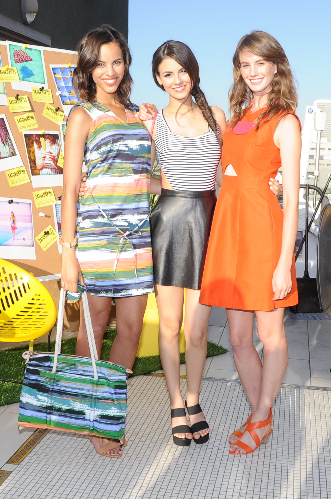 Victoria Justice Kate Spade Saturday Summer Solstice