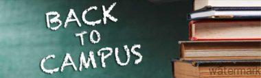 Back to Campus-Back to School