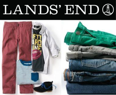 "Lands"" End Back To School"