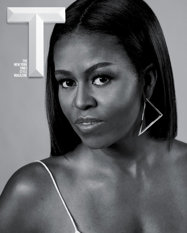 New York Times T Magazine Michelle Obama