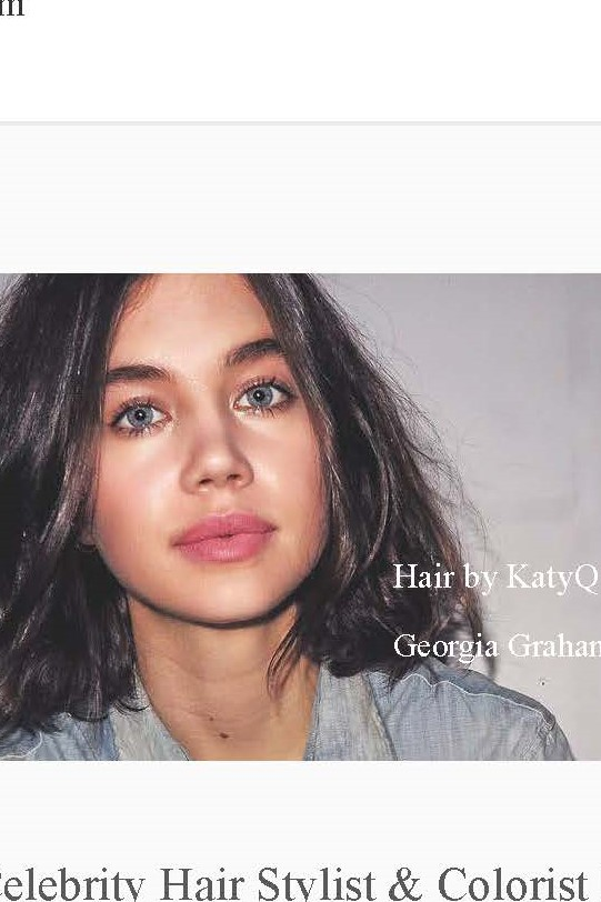 Katy Q Celebrity Hairstylist And Colorist Launches Marketplace